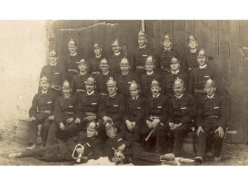 Hasičský sbor v roce 1933