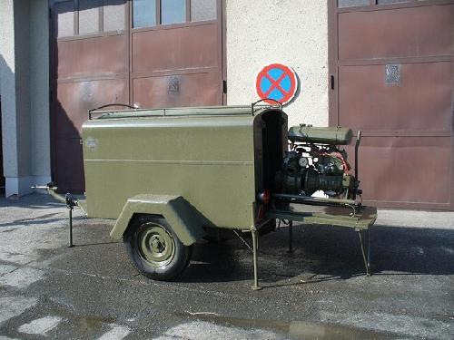 Přívěs s přenosnou motor. stříkačkou PMS 8