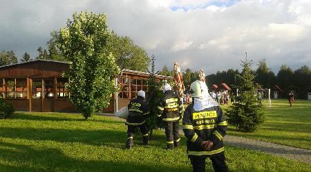 28. 05. 2014 - Moravec - technická pomoc (odstranění nebezpečného roje včel)