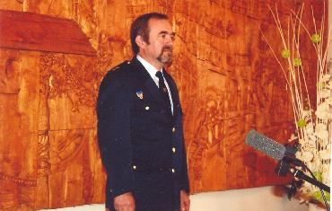 Předání medaile