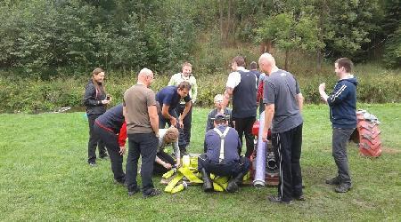 Asistence při organizaci teambuildingové akce - 11.září 2015 - Mirošov, Podmitrov