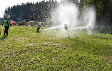 Okresní kolo v požárním sportu v Bobrové - 25.5.2019