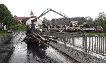 14.6.2020 - Bobrová - přívalový déšť