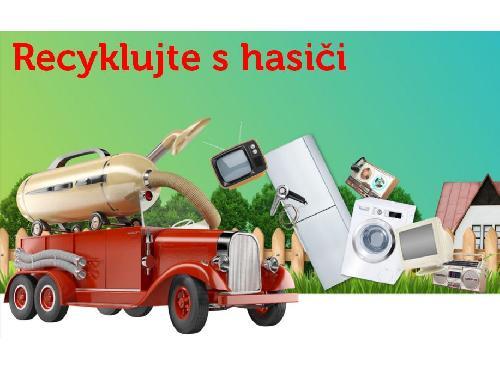 5. místo v projektu Recyklujte s hasiči