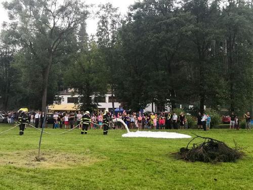Ukázky na oslavách v Rožné