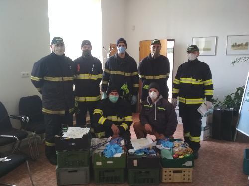 Desinfekce pro občany Bobrové