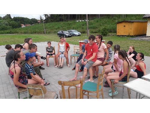 Hasičský tábor